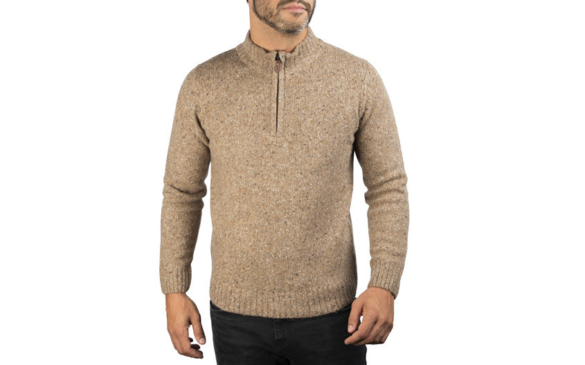 Pullover cosy xoos beige...