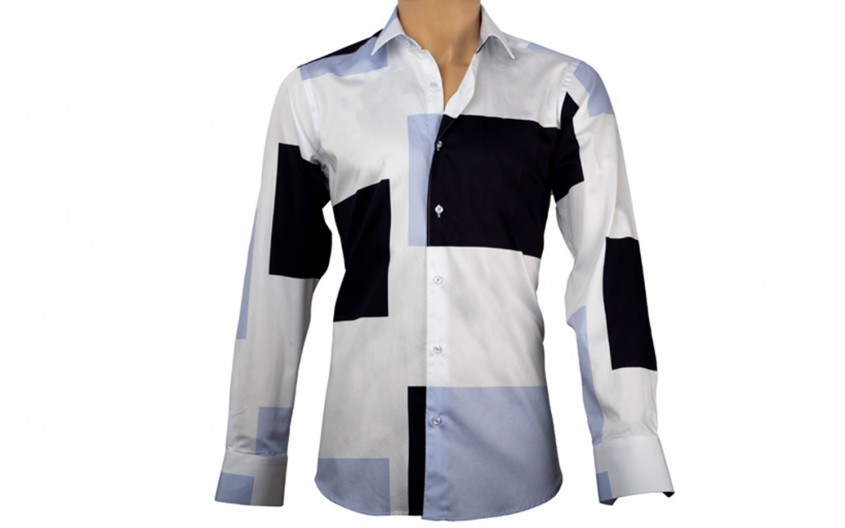Chemise homme patchwork...