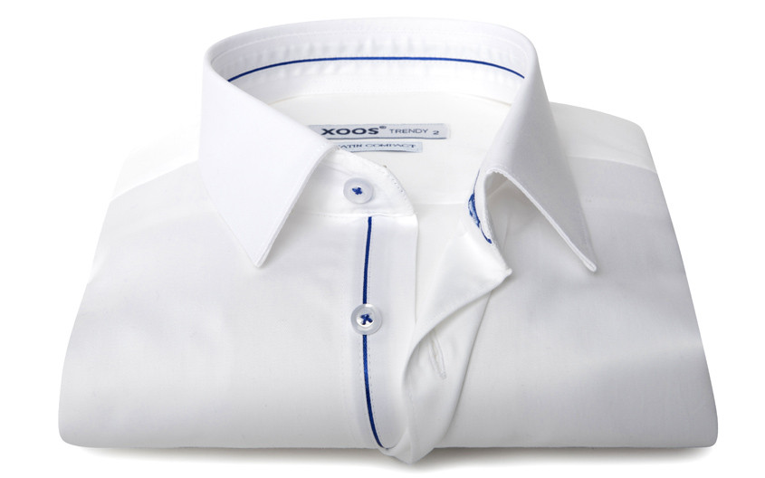 Chemise homme blanche galon...