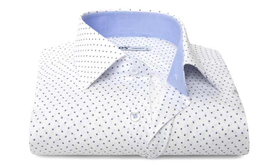 Chemise homme blanche micro...