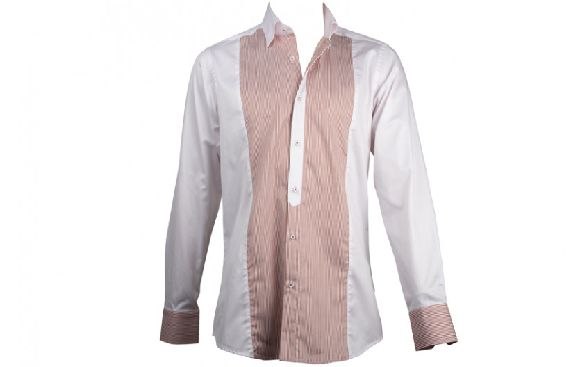 Chemise homme rose pale...