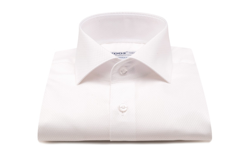 Chemise homme blanche grid...