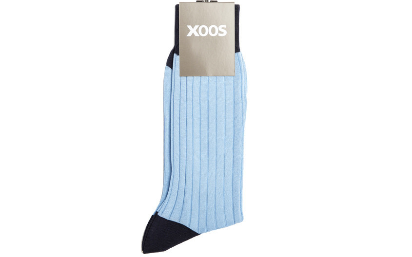 Chaussettes XOOS bicolore...