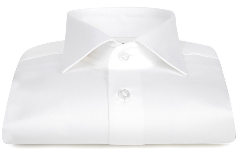Chemise blanche col Italien