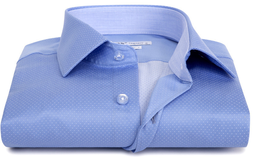 Chemise homme micro pois...