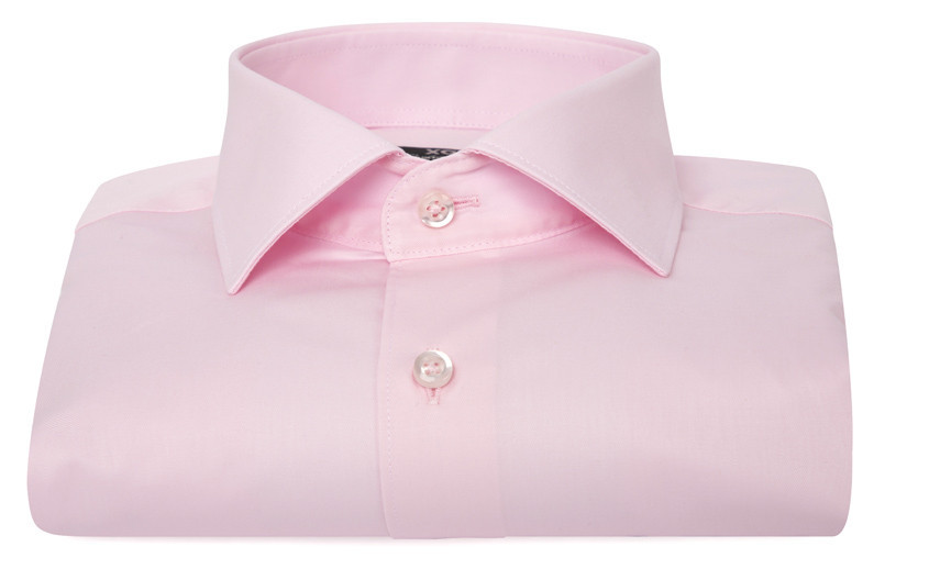 Chemise homme rose (Double...