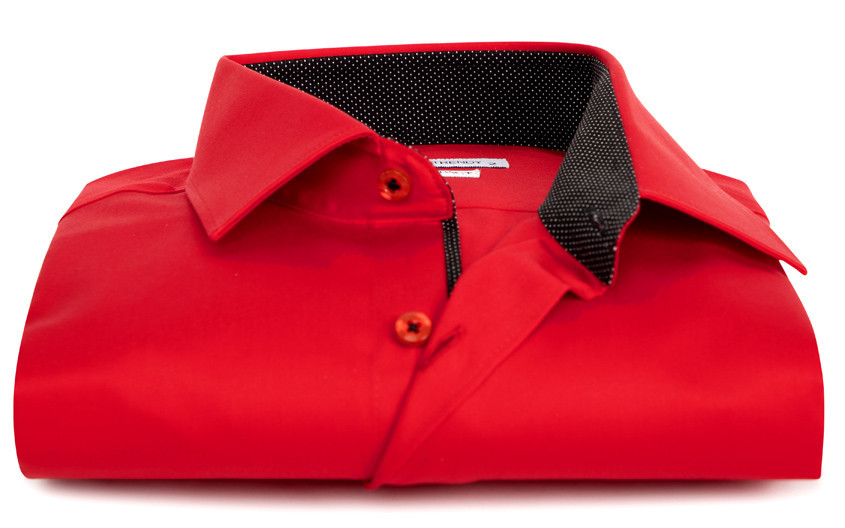 Chemise homme rouge...